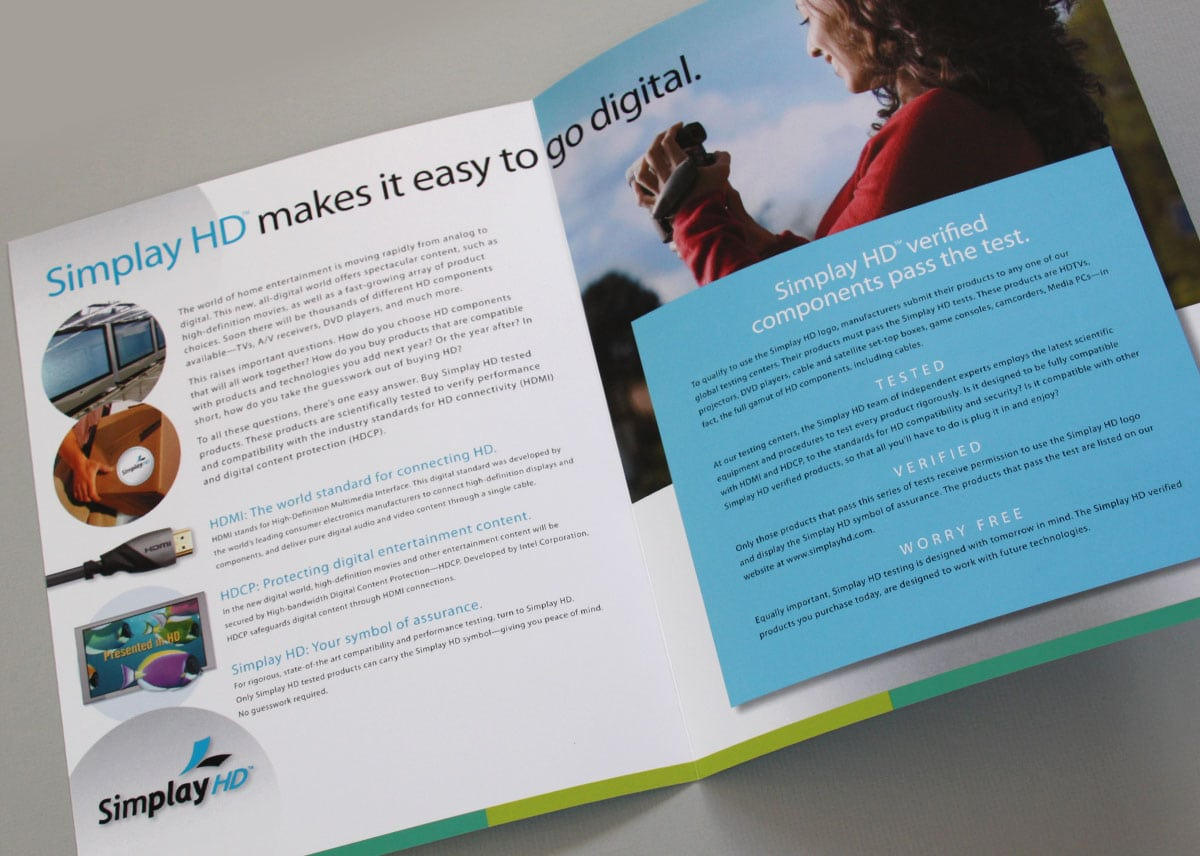 Simplay brochure, inside