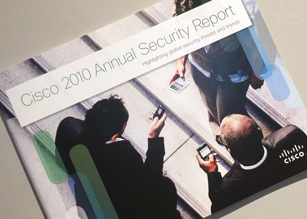 Cisco Security Report Cover