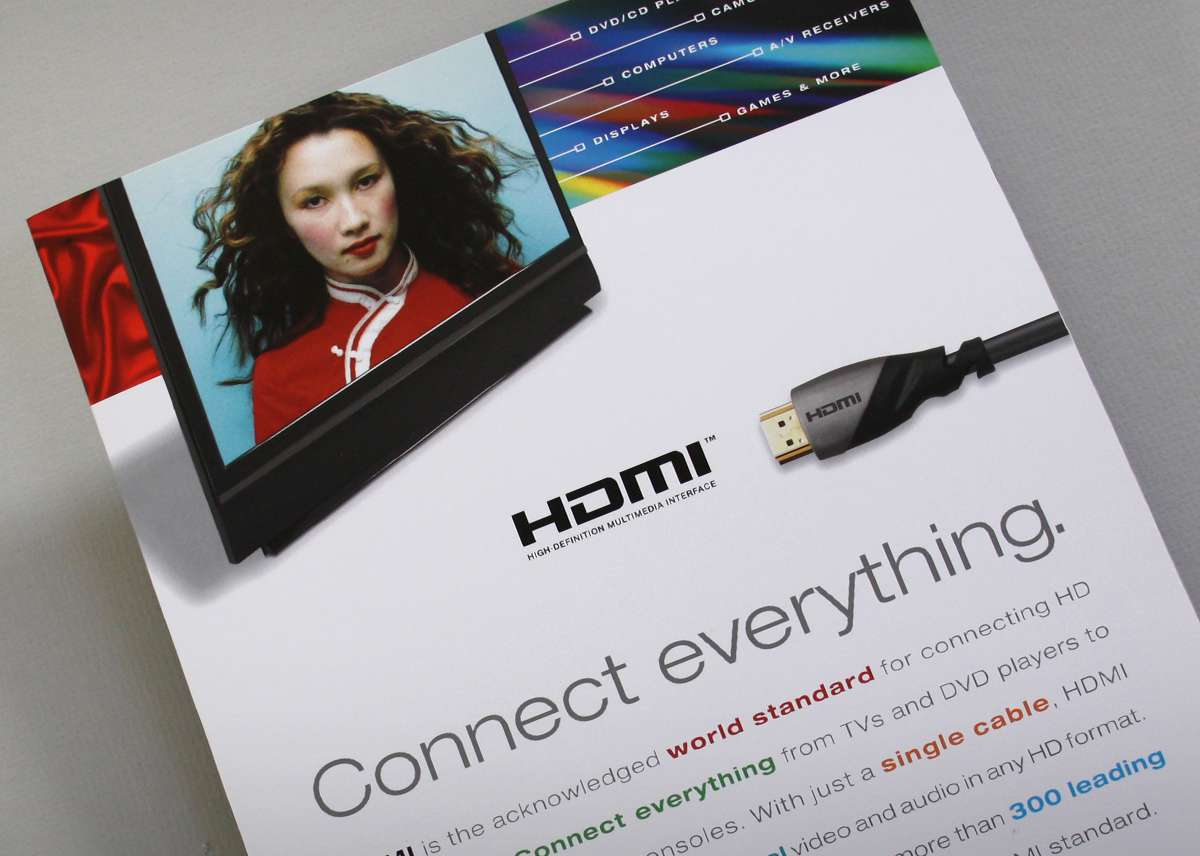 HDMI brochure cover