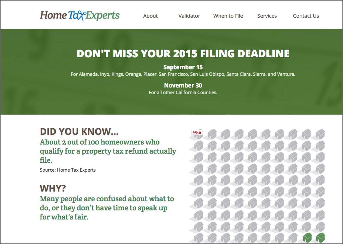 Don't miss your filing date