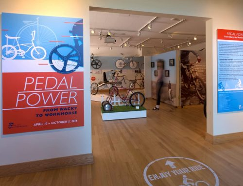 "Los Altos History Museum ""Pedal Power"""