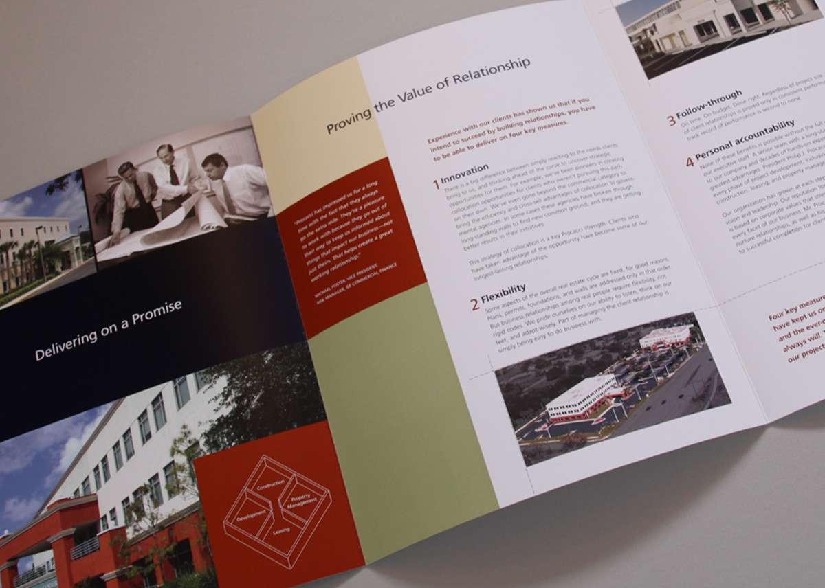 Procacci brochure inside spread
