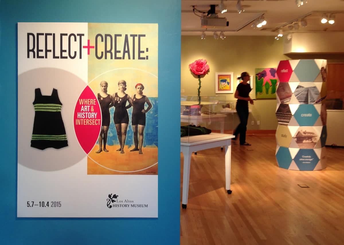 Reflect + Create exhibit entry