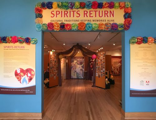"Los Altos History Museum. ""Spirits Return"""