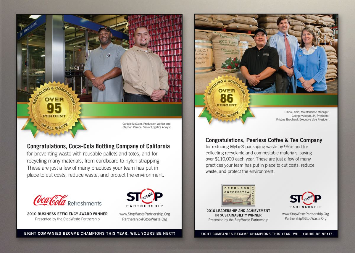 StopWaste Business Efficiency ads