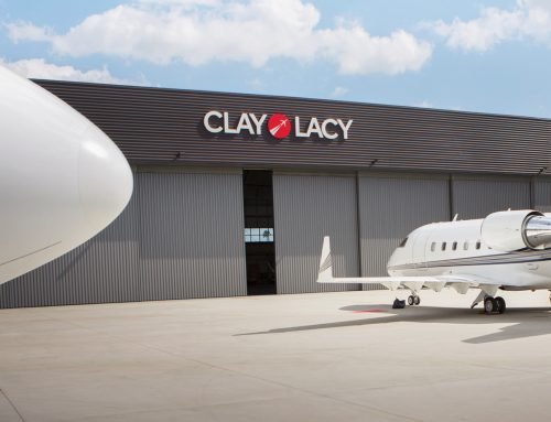 Clay Lacy Aviation Advertising