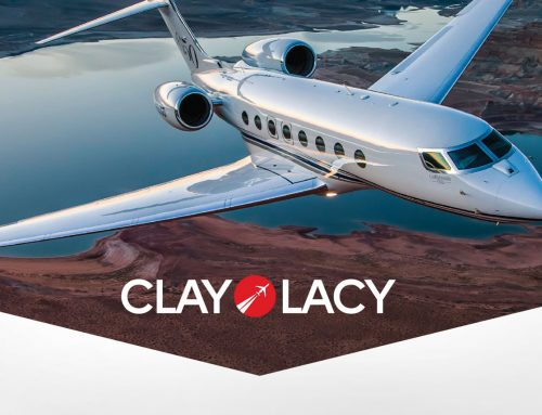 Clay Lacy Aviation Brand Identity