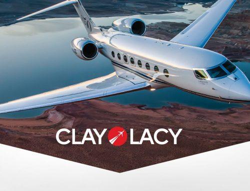 Clay Lacy Aviation Brand Identity